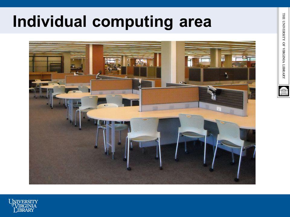Individual computing area