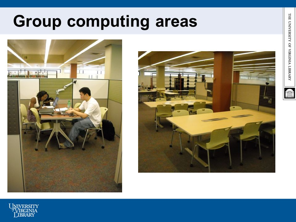 Group computing areas