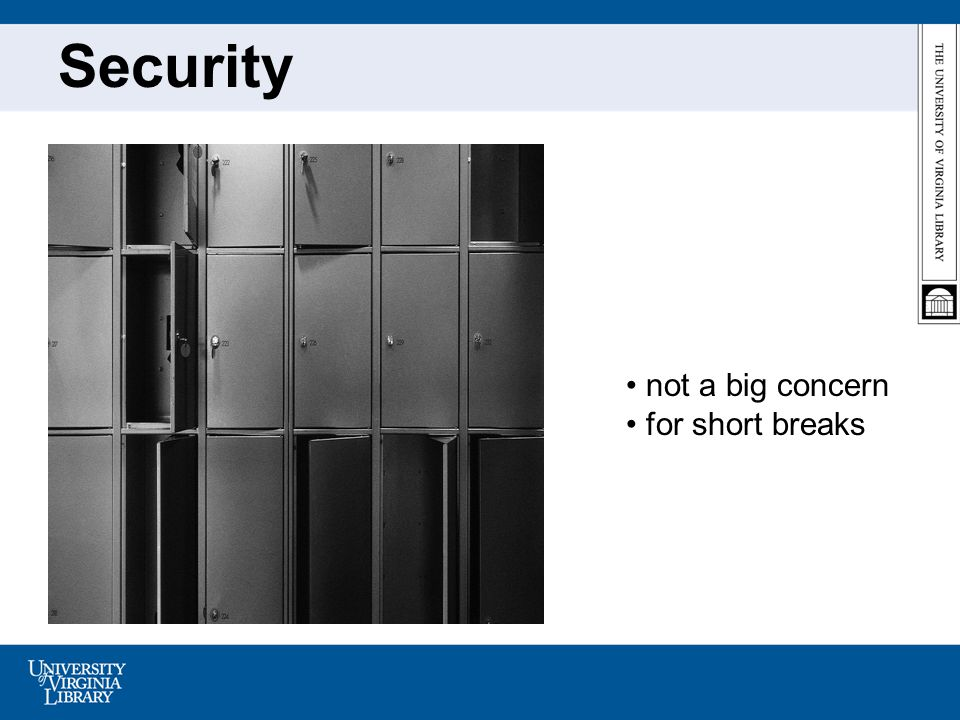 Security not a big concern for short breaks