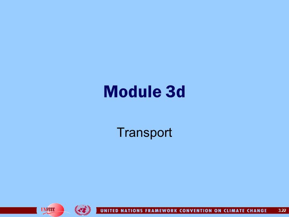 3.22 Module 3d Transport