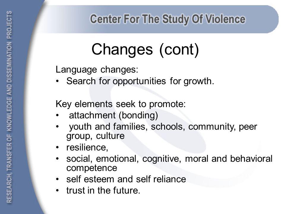 Successful community programs Leisure and sports Reduce anti-social behavior Promote social skills