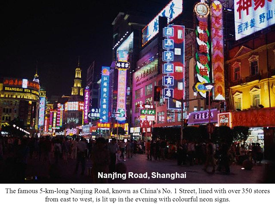 Nanjing Road, the busiest Commercial Centre of Shanghai, Hosts 1 million People Everyday