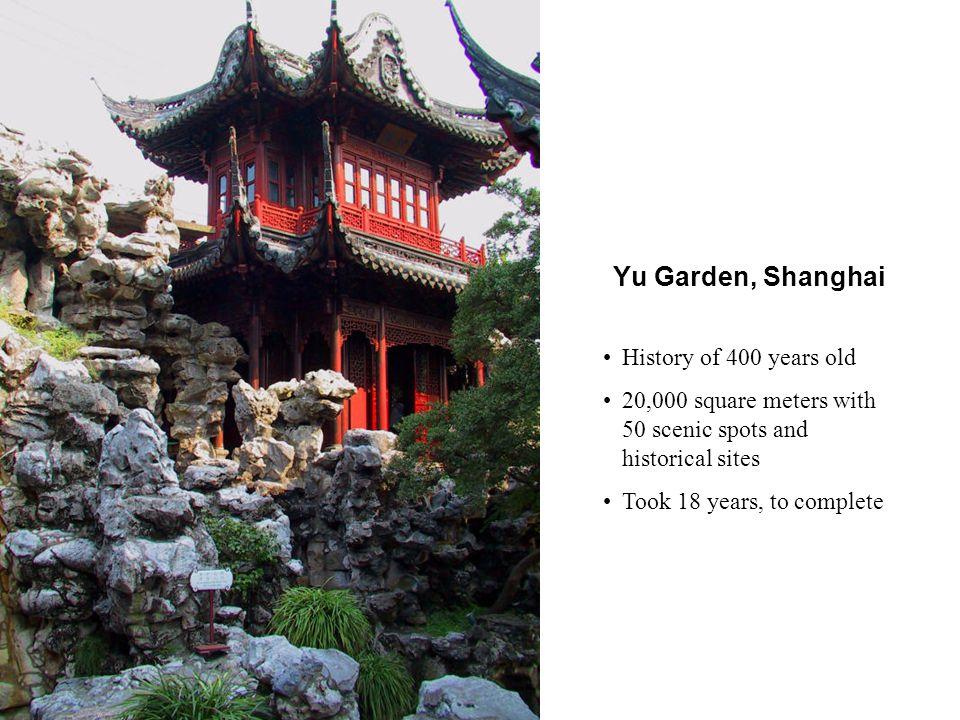The Nine-Zigzag Bridge, Yu Garden