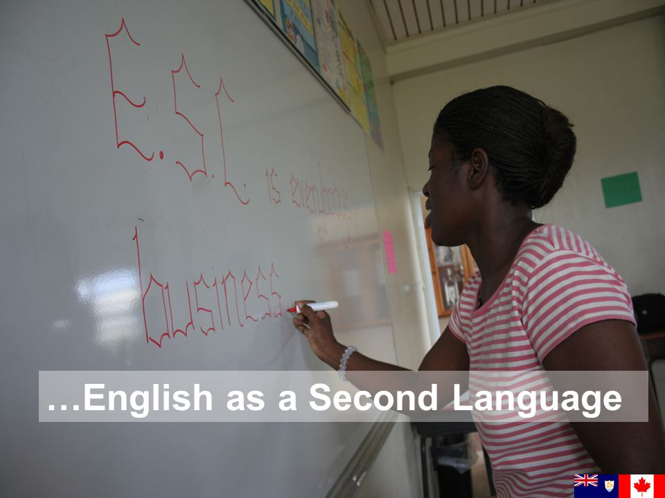 …English as a Second Language