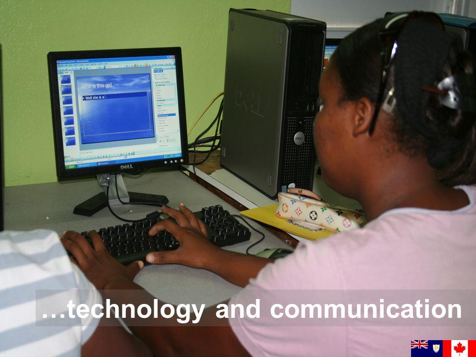 …technology and communication
