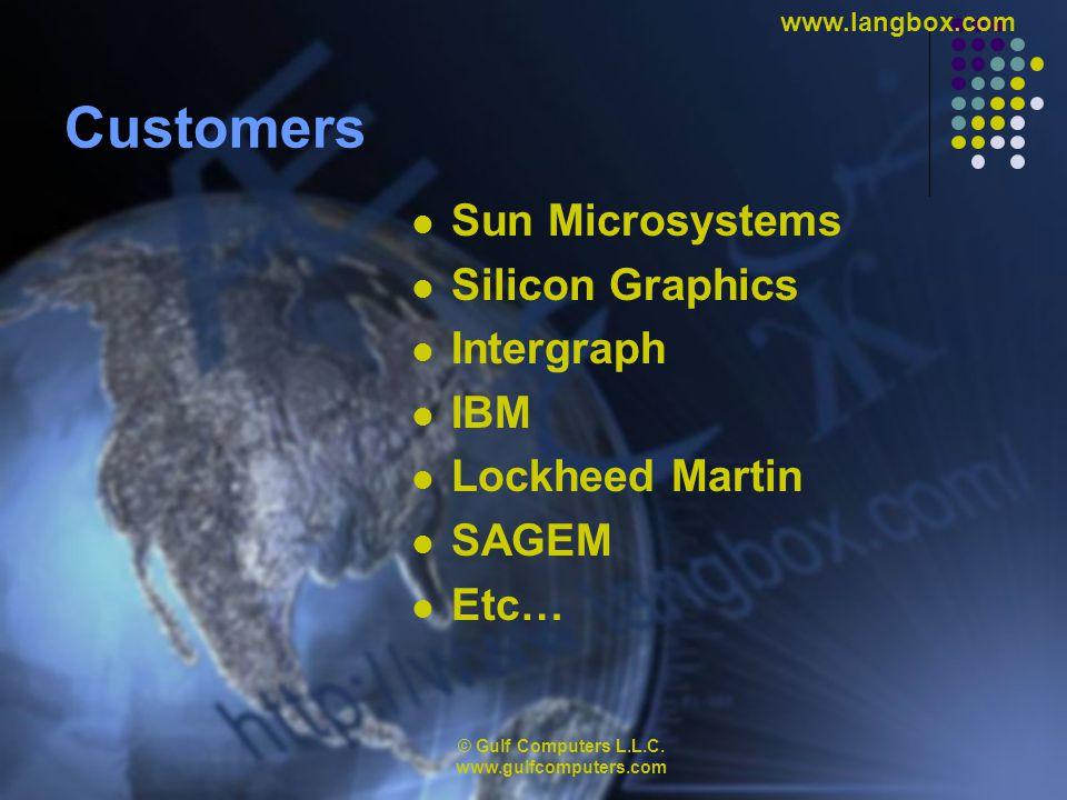© Gulf Computers L.L.C. www.gulfcomputers.com www.langbox.com Thank You