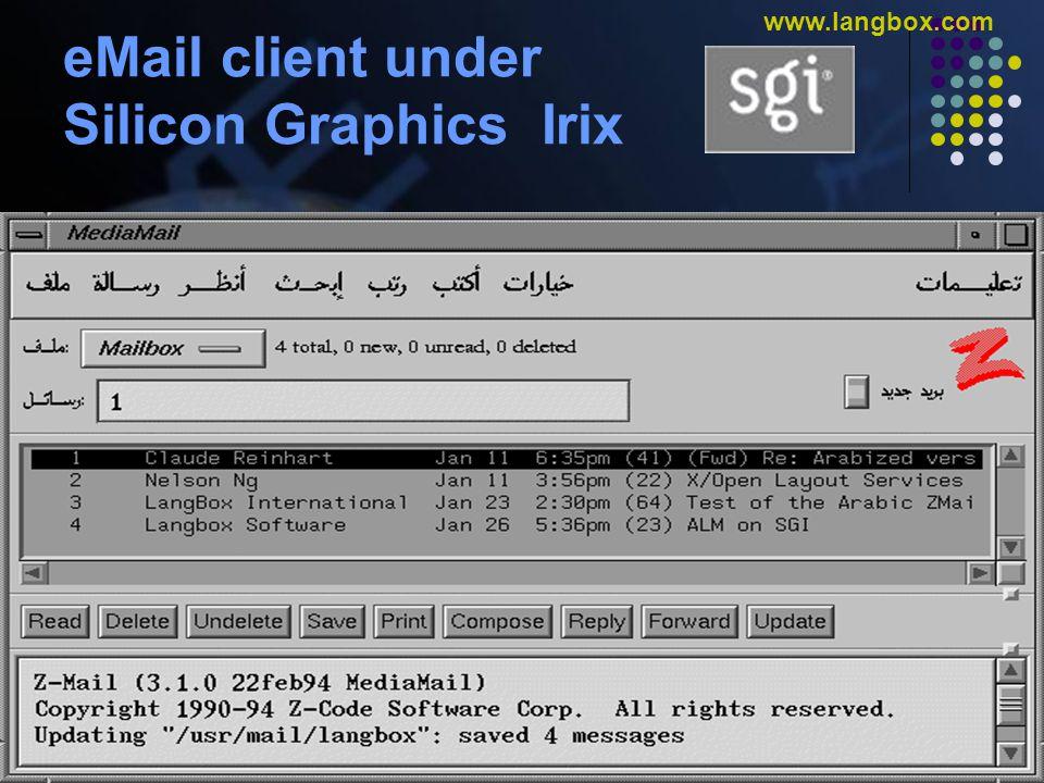 © Gulf Computers L.L.C. www.gulfcomputers.com www.langbox.com XLANGBOX-ARA Oracle Report