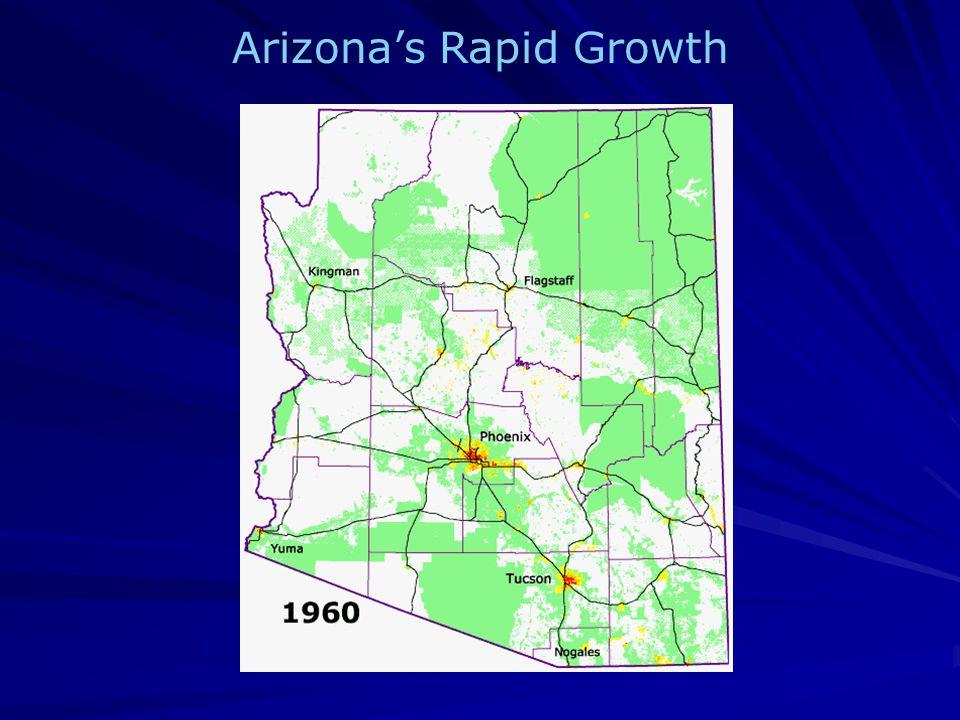 Arizonas Rapid Growth