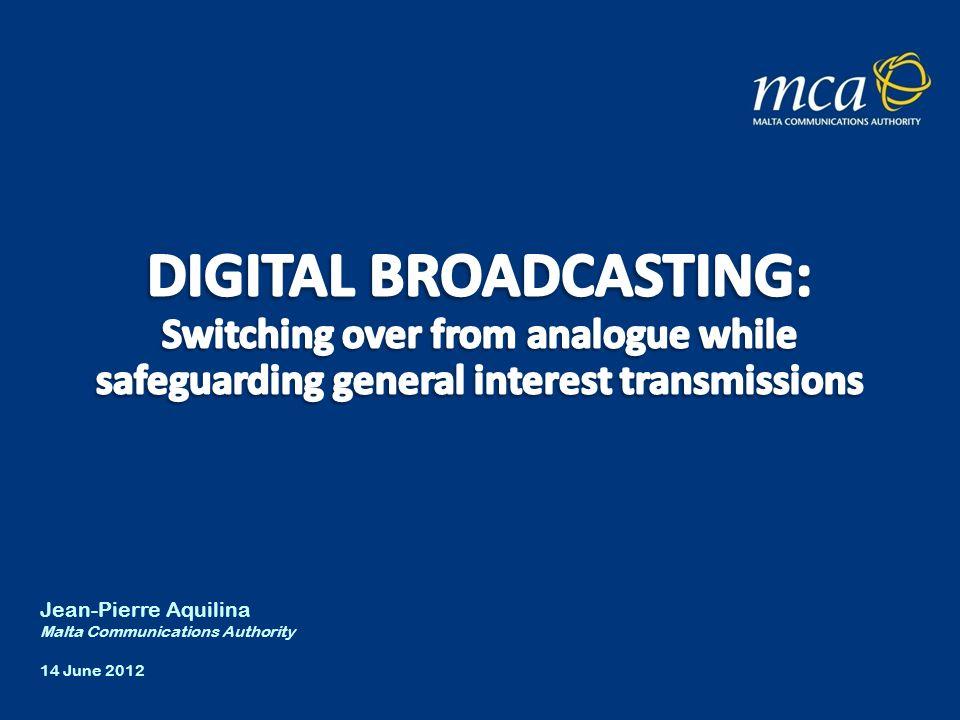 2 A brief history of key developments in TV broadcasting in Malta