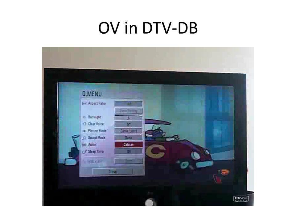 OV in DTV-DB