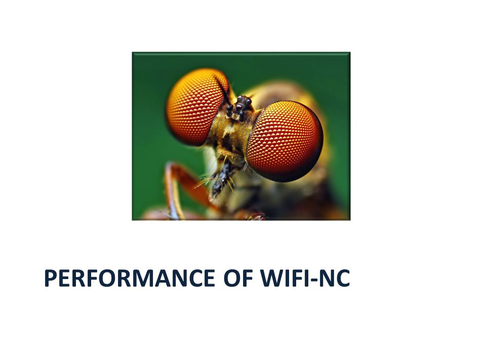 PERFORMANCE OF WIFI-NC