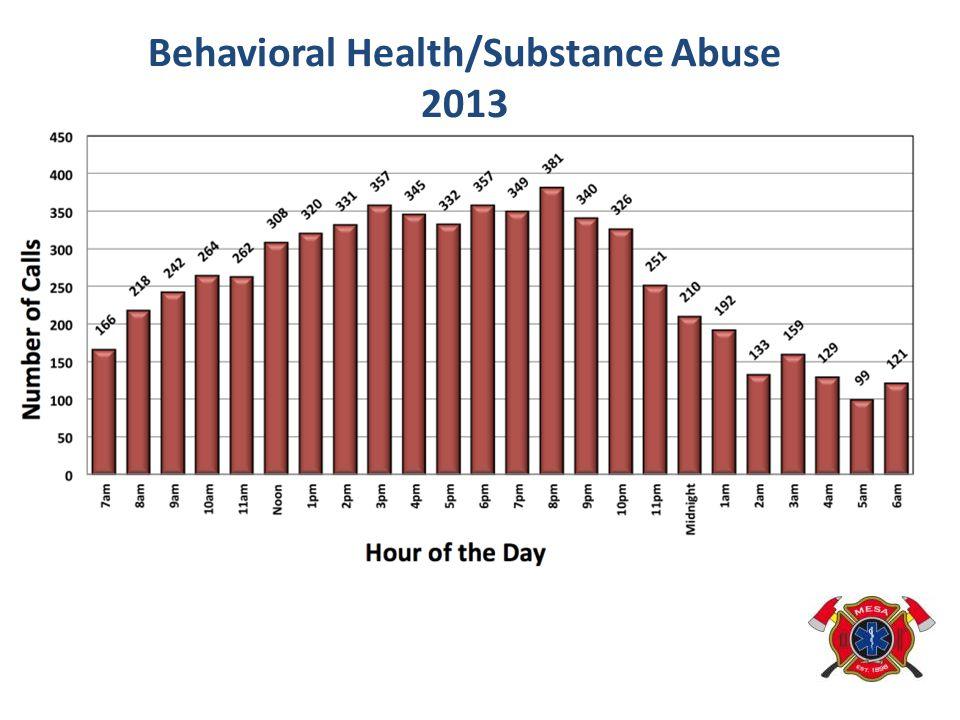 Behavioral Health/Substance Abuse 2013