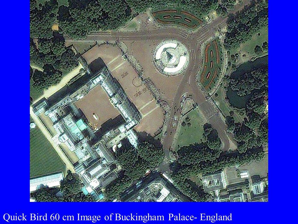 Quick Bird 60 cm Image of Buckingham Palace- England