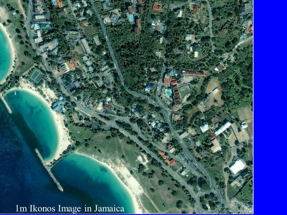 1m Ikonos Image in Jamaica
