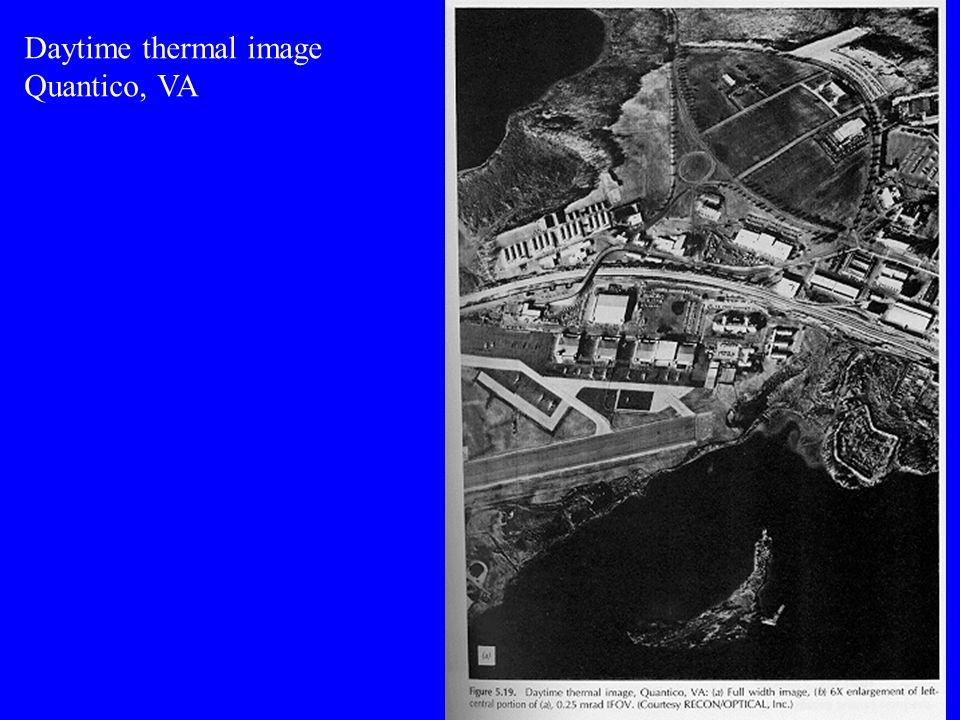 Daytime thermal image Quantico, VA