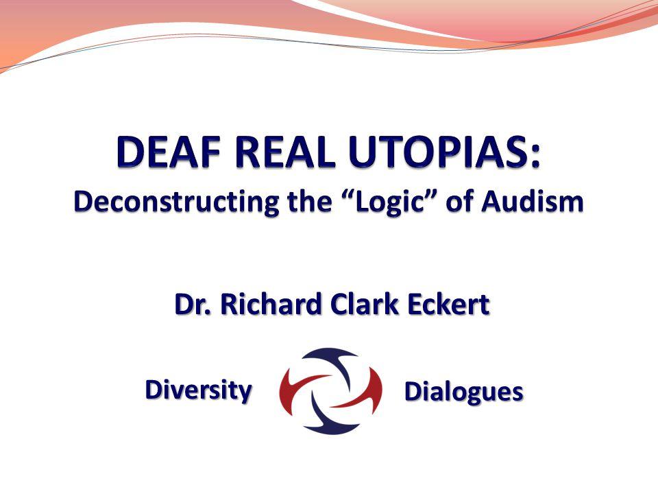 Dr. Richard Clark Eckert Diversity Dialogues