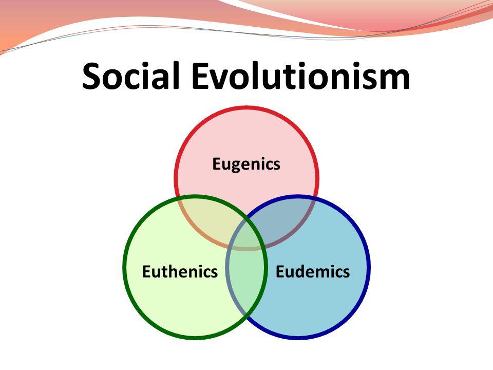 Social Evolutionism Eugenics EudemicsEuthenics
