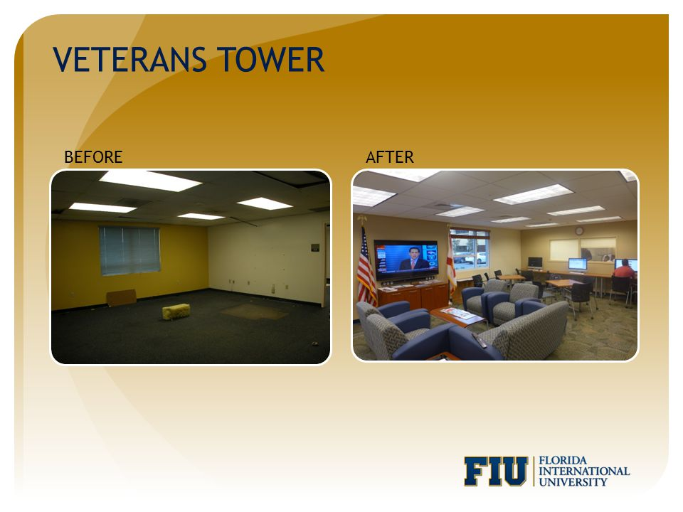 VETERANS TOWER AFTERBEFORE