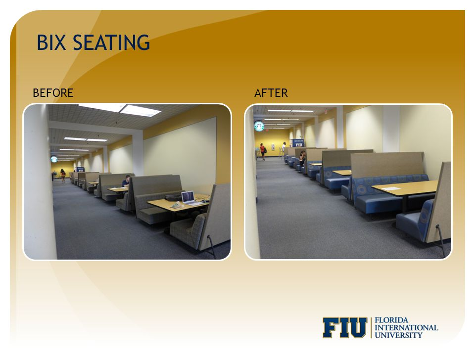 BIX SEATING BEFOREAFTER