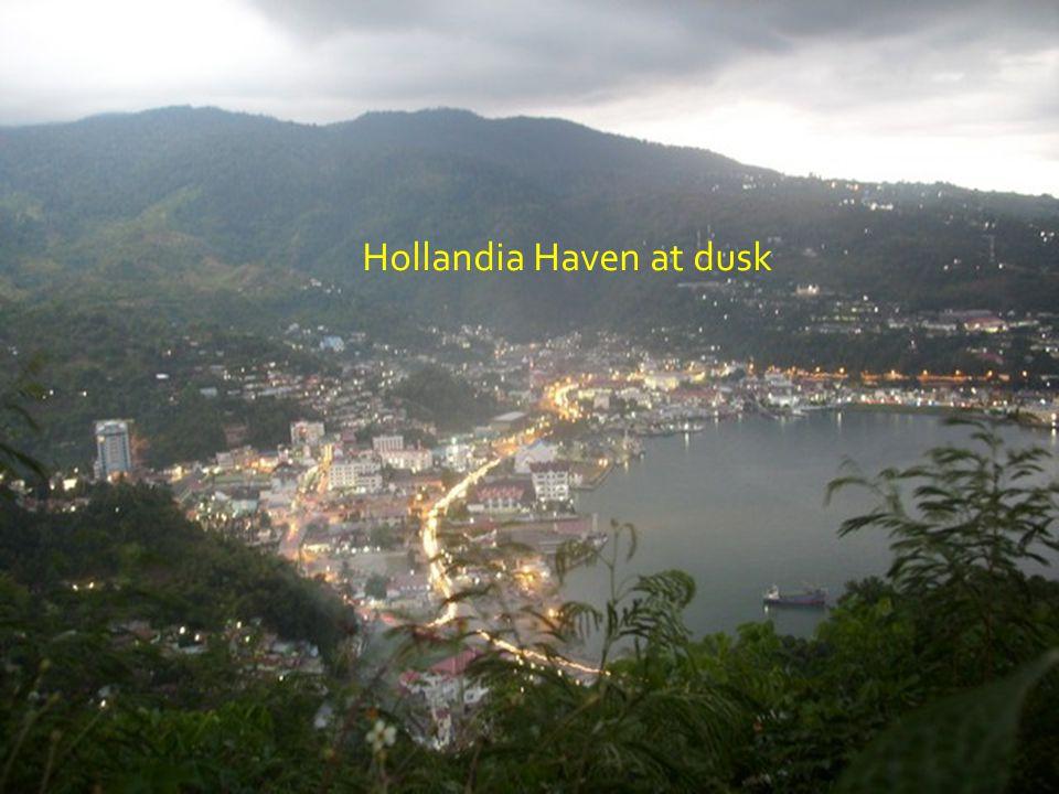 HOLLANDIA HAVEN, EVENING HOURS.