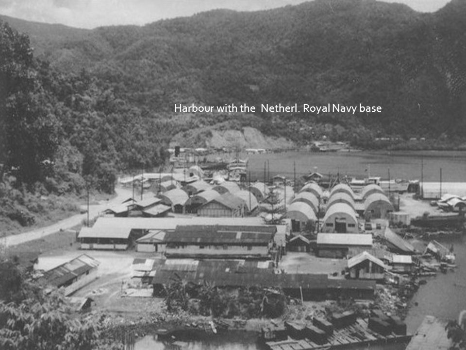 Harbour with the Netherl. Royal Navy base