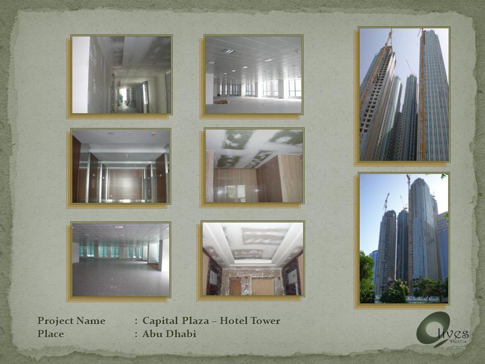 Project Name: Bin Hamooda Showroom / Warehouse Place: Abu Dhabi