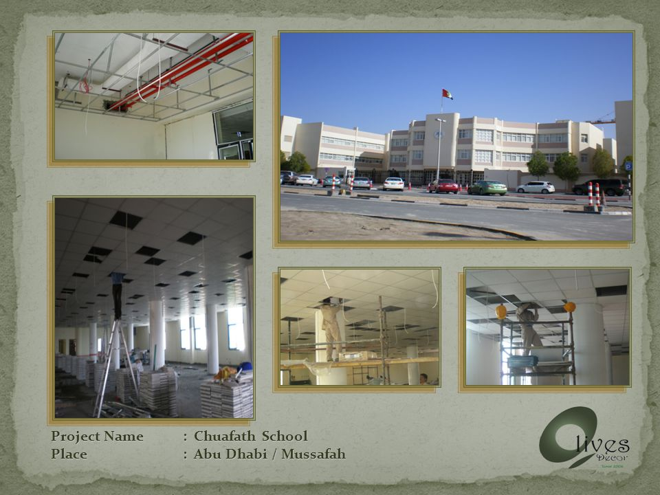 Project Name: AD Media / TV Place: Abu Dhabi
