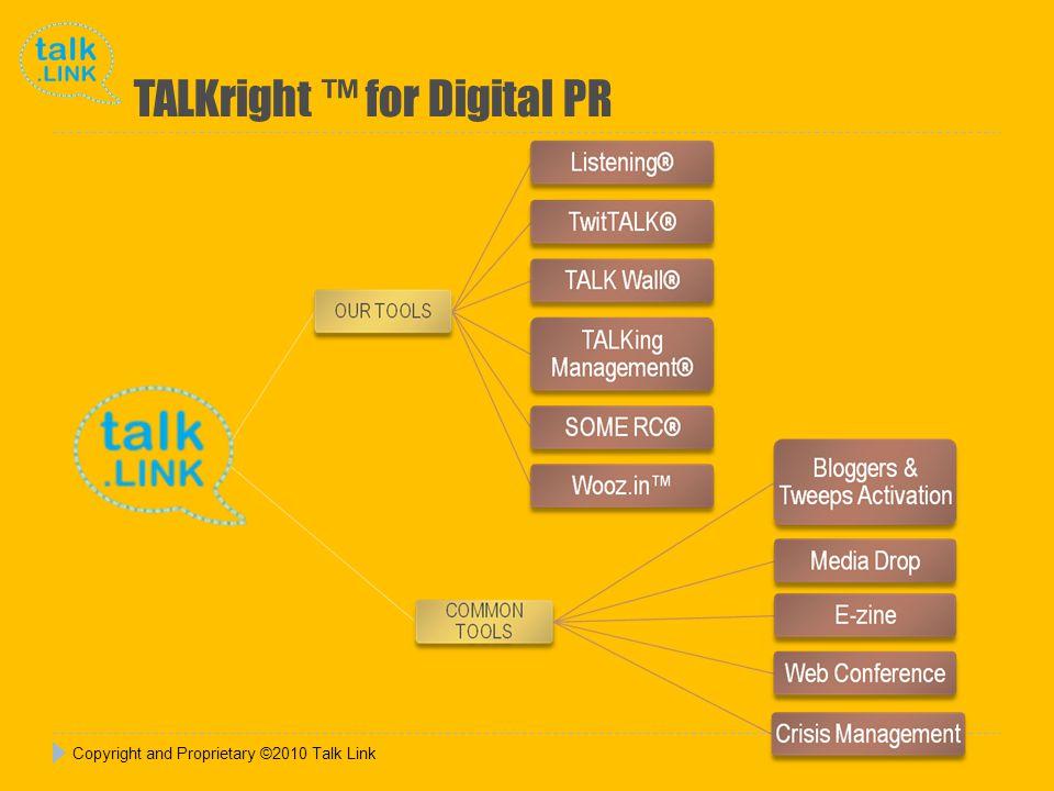 TALKright for Digital PR