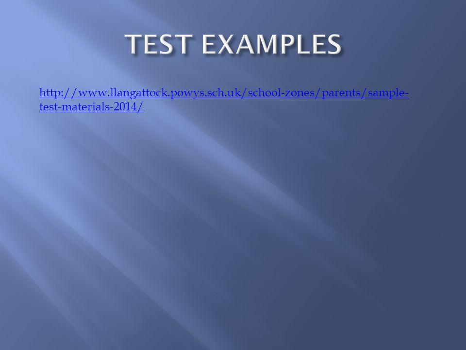 http://www.llangattock.powys.sch.uk/school-zones/parents/sample- test-materials-2014/