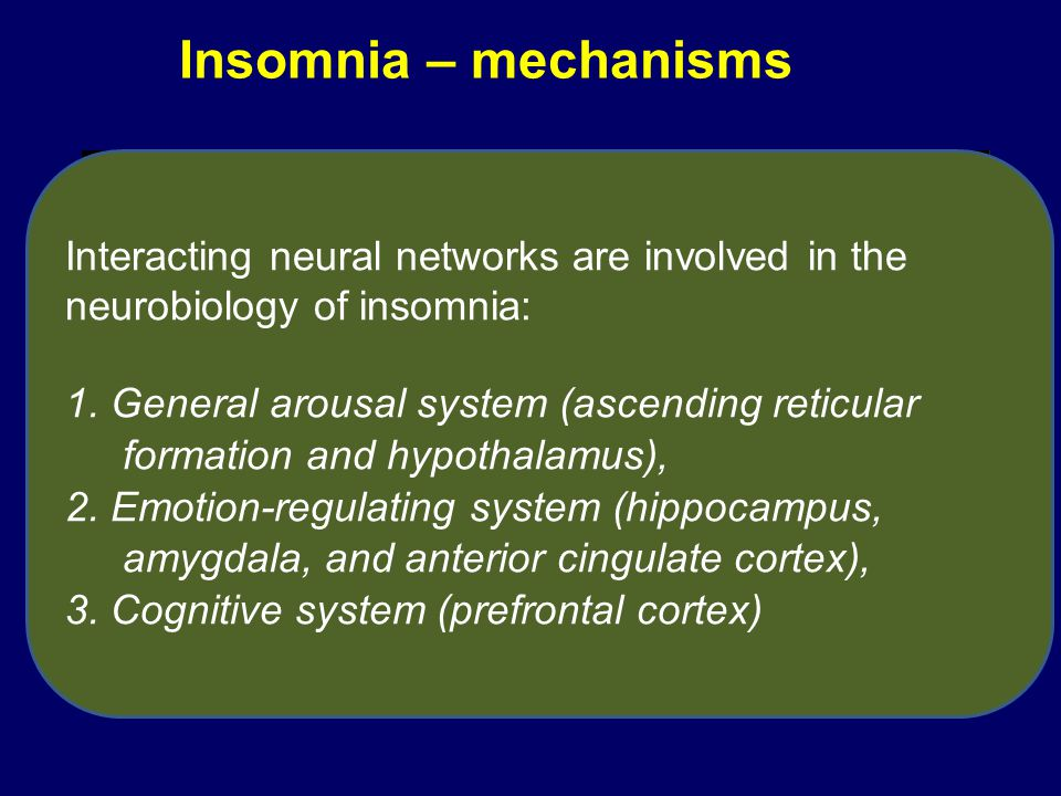 (A)Patients with insomnia: brain areas where metabolism was not decreased in waking and sleep states (B)Healthy subjects: brain areas where metabolism