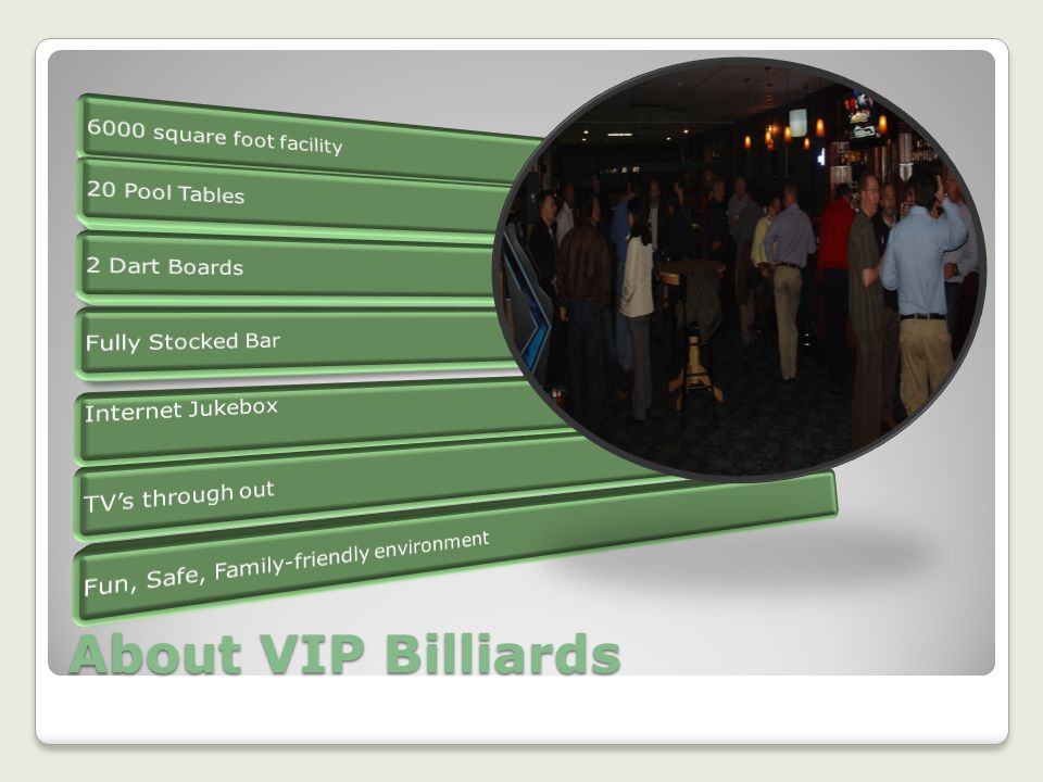 About VIP Billiards