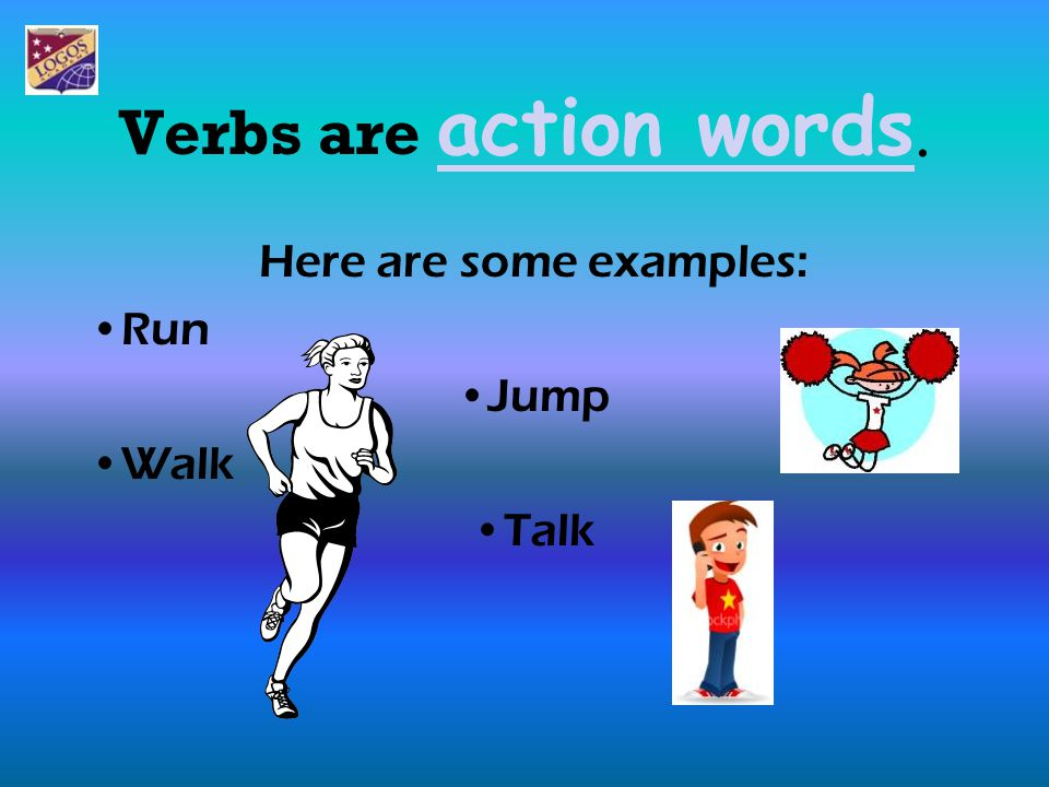 The verbs in our sentences change when we talk about what has already happened.verbs I walk to school I walked to school I jump on my bed I jumped on my bed Can you see how we have changed these verbs?