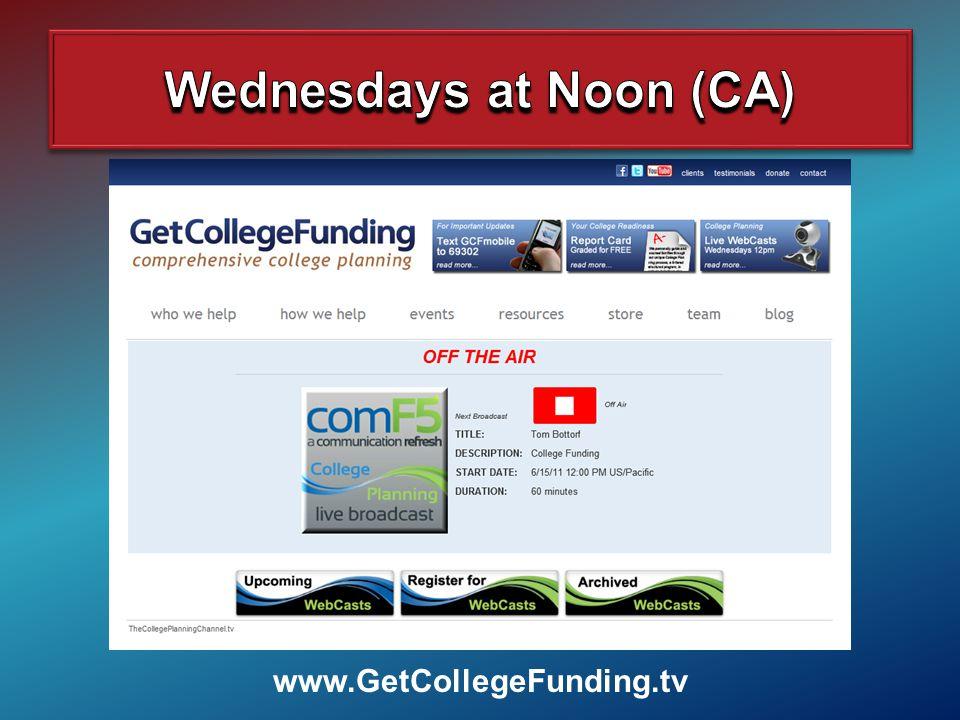 www.GetCollegeFunding.tv