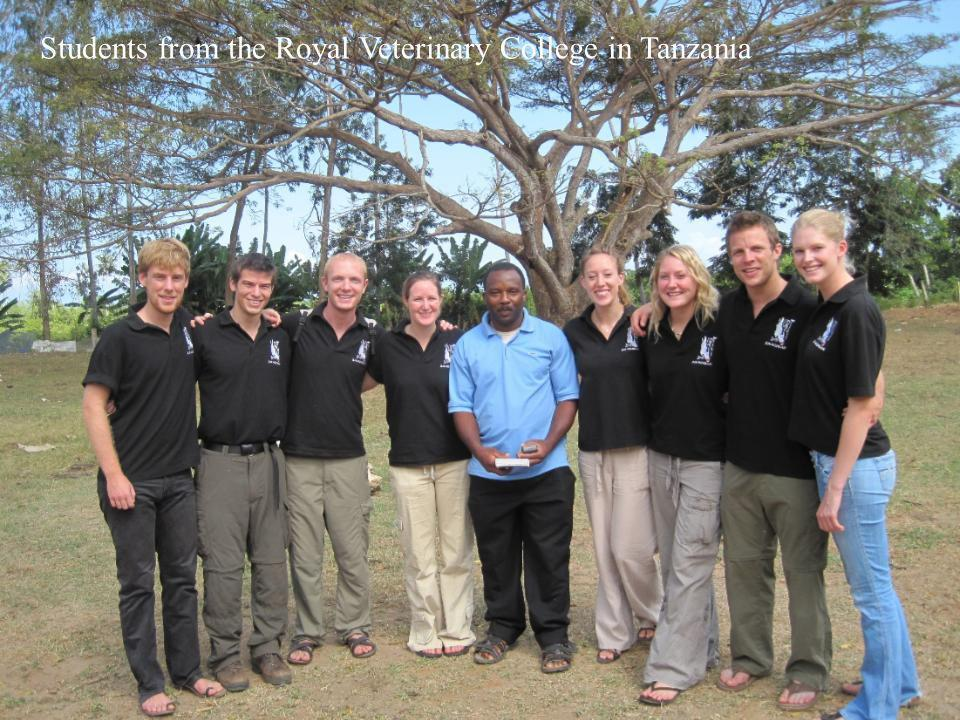 Copyright © UCLES 2008 Students from the Royal Veterinary College in Tanzania
