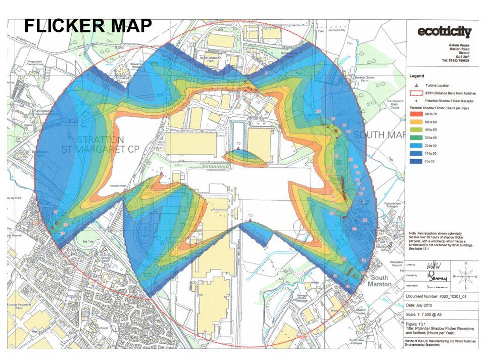 FLICKER MAP