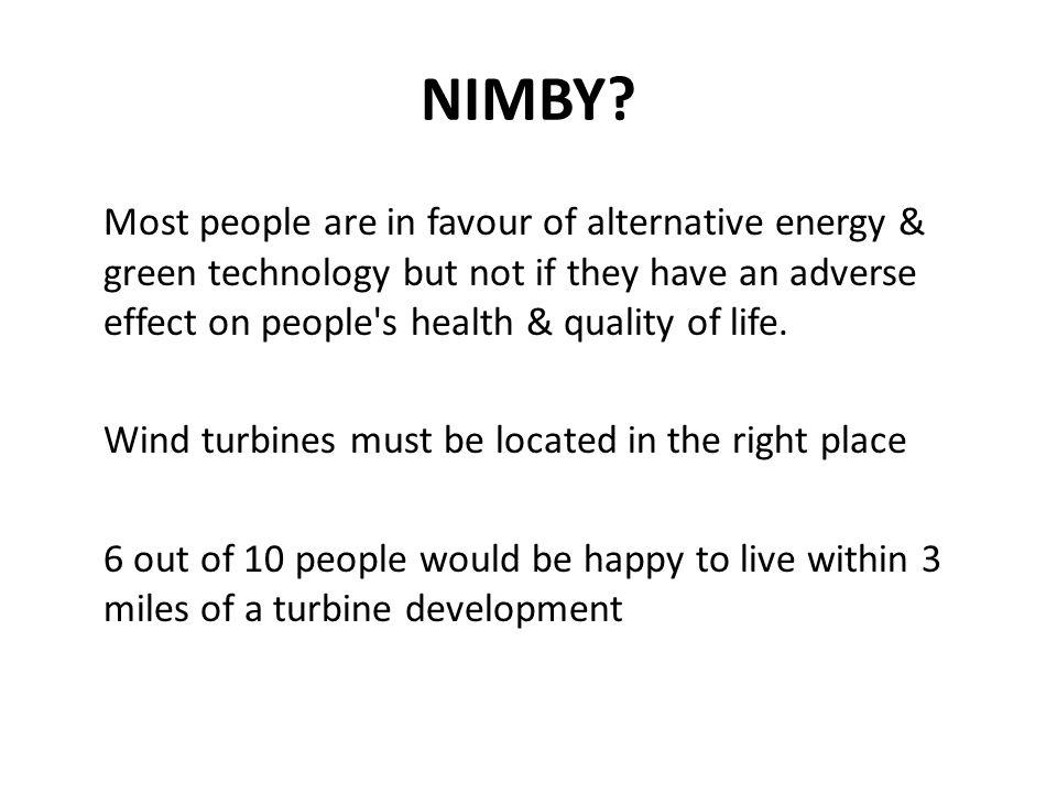 NIMBY.