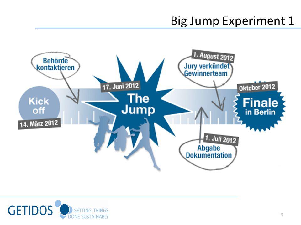 9 Big Jump Experiment 1