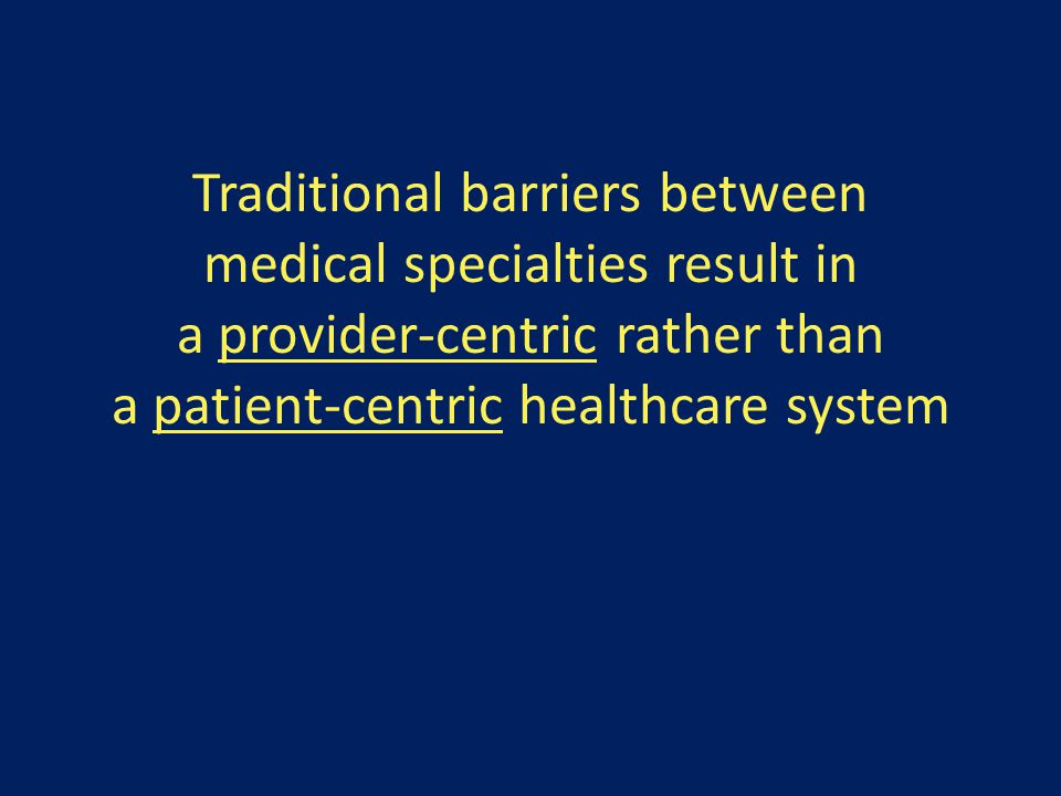 Elimination of these barriers improves patient outcomes and offers a non-zero opportunity for providers