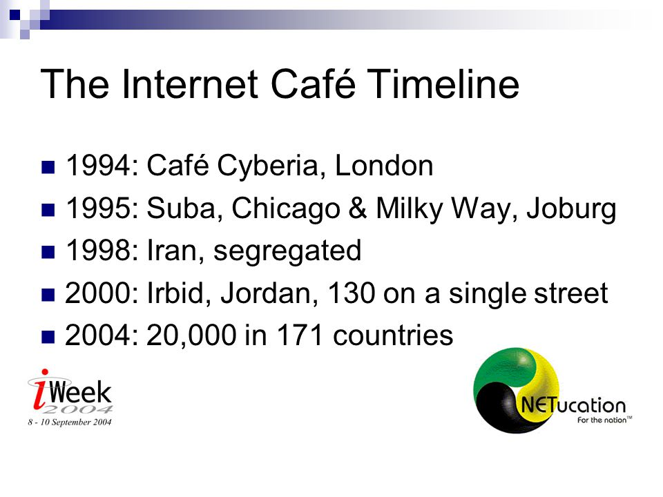 What is an Internet Café.