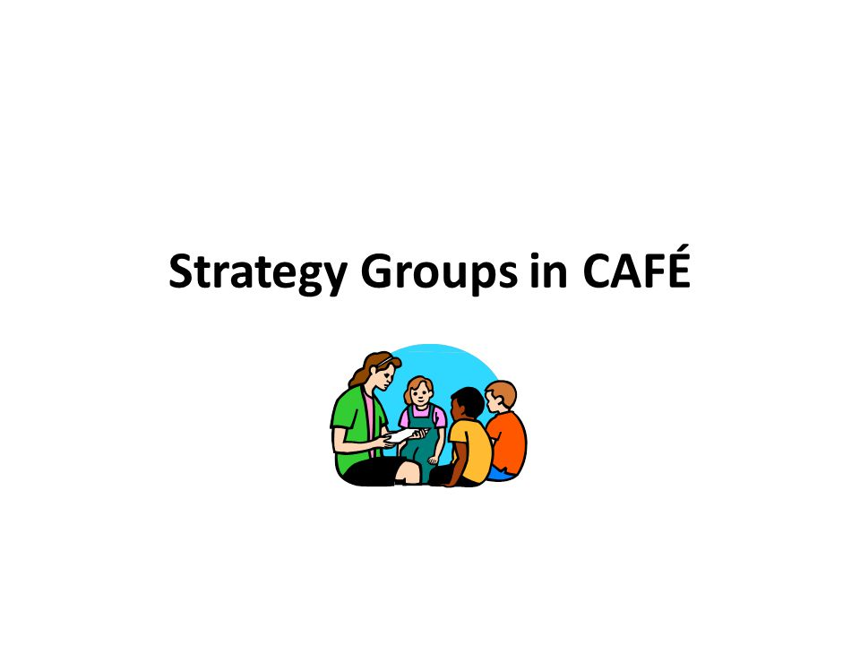 Strategy Groups in CAFÉ