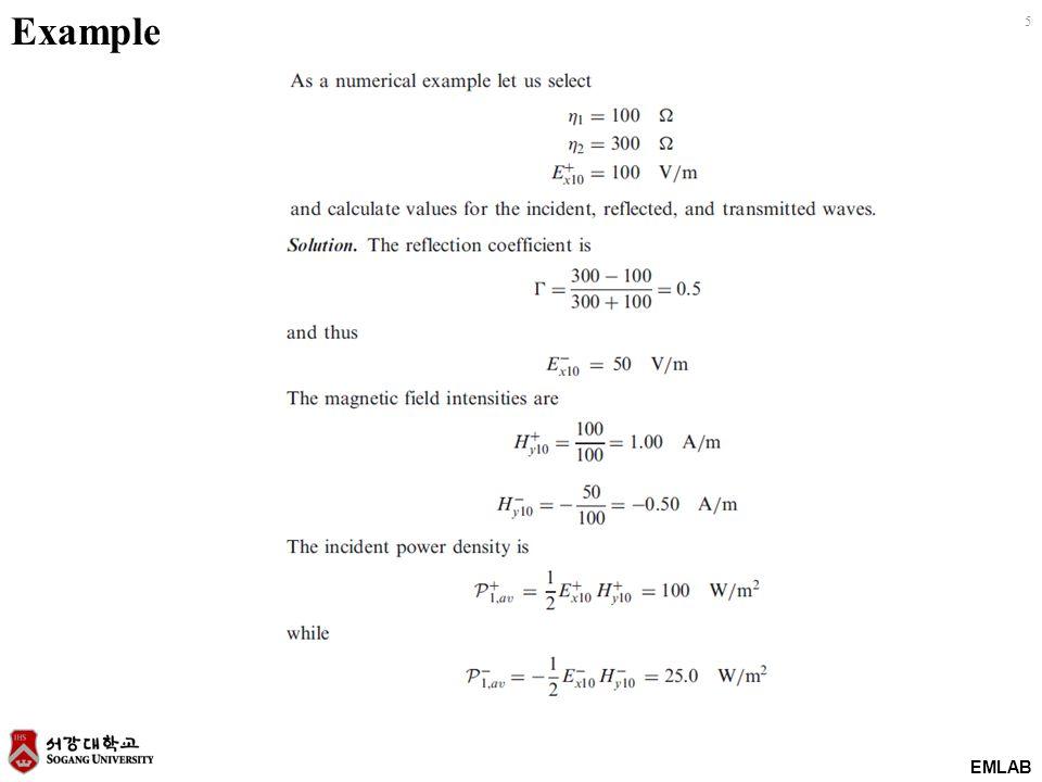 EMLAB 5 Example