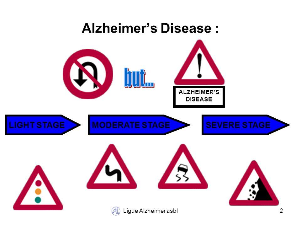 Ligue Alzheimer asbl13 Alzheimer Café : SILENCE Here we answer to everything !
