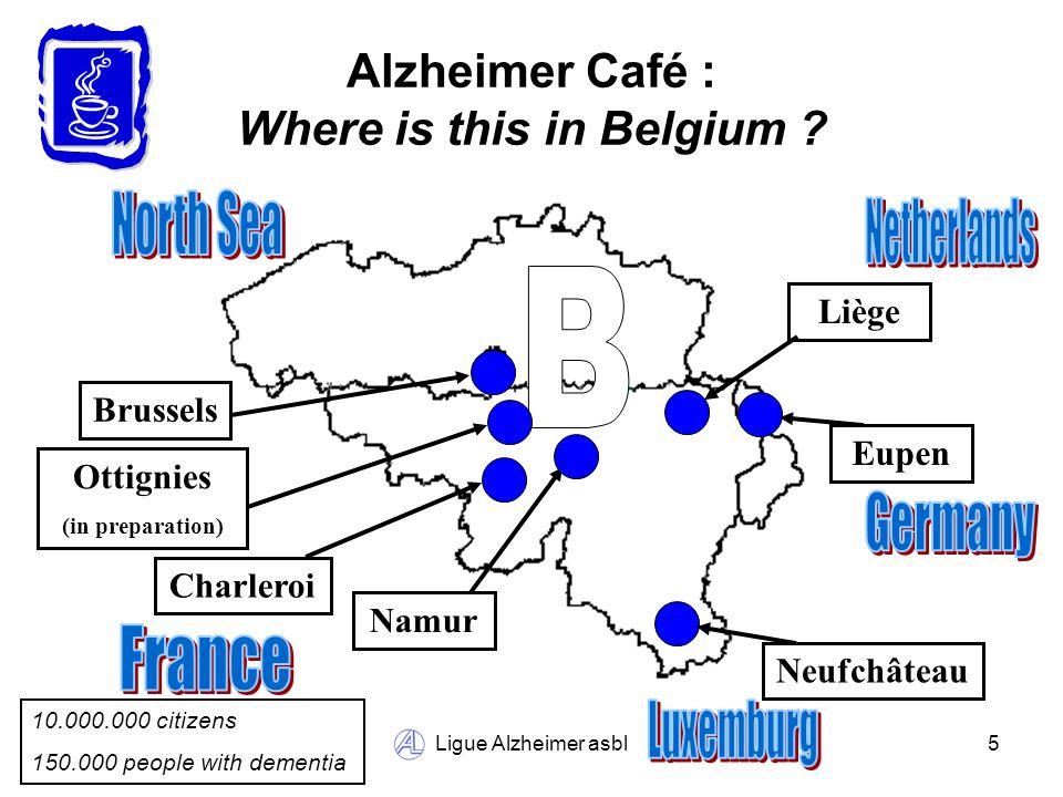 Ligue Alzheimer asbl6 Alzheimer Café in Liège : A view of Liège (Belgium)