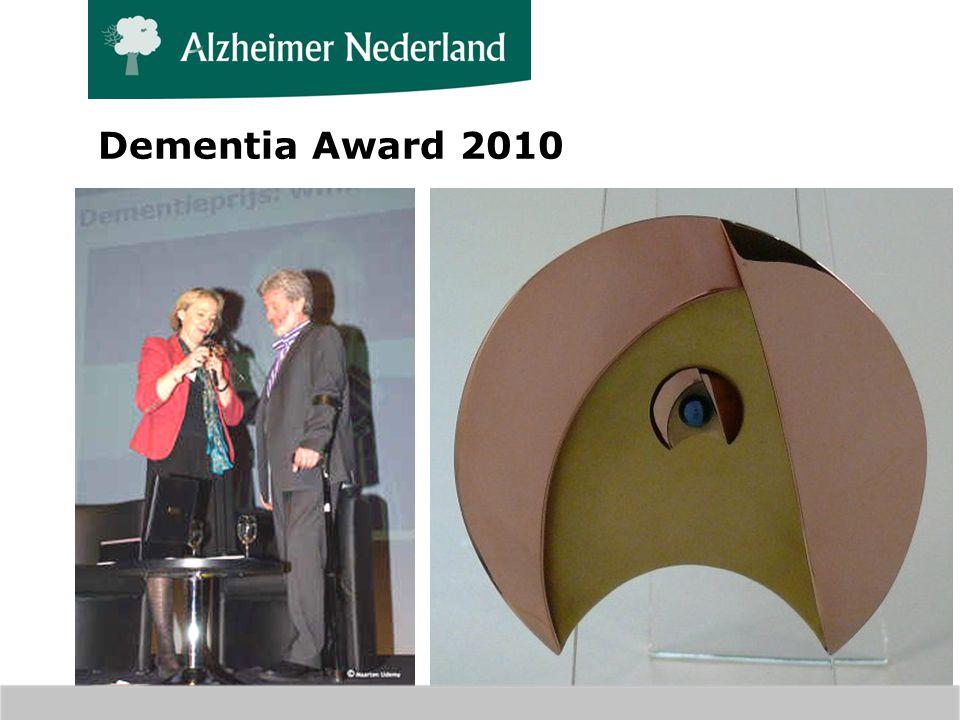 Dementia Award 2010