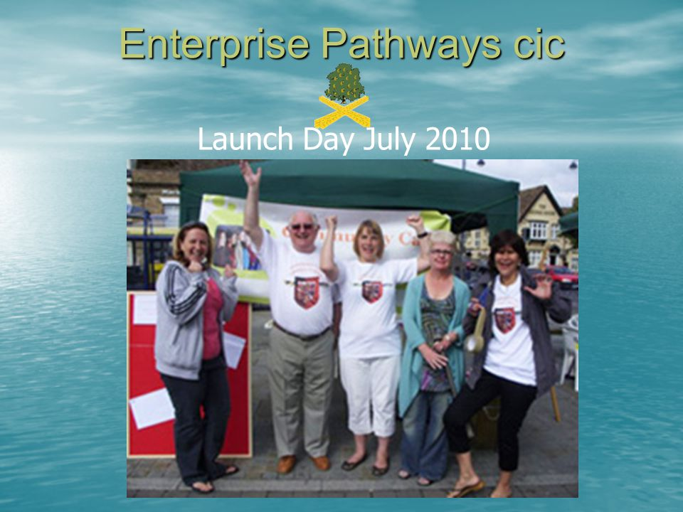 Enterprise Pathways cic Launch Day July 2010