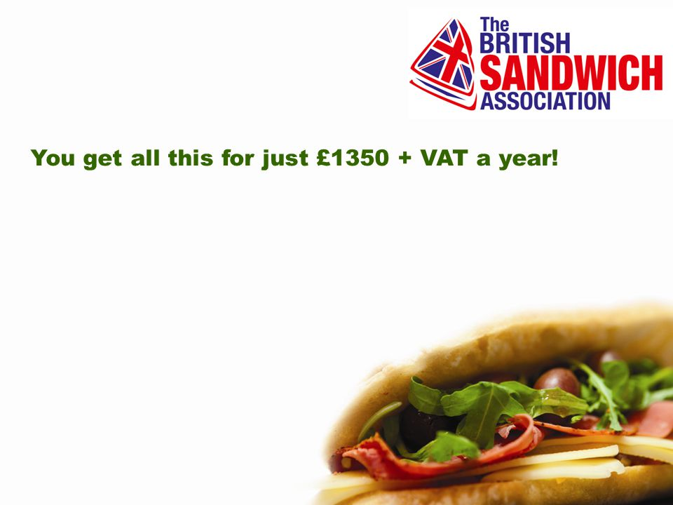 You get all this for just £1350 + VAT a year!