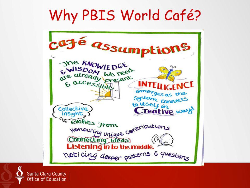 Why PBIS World Café?