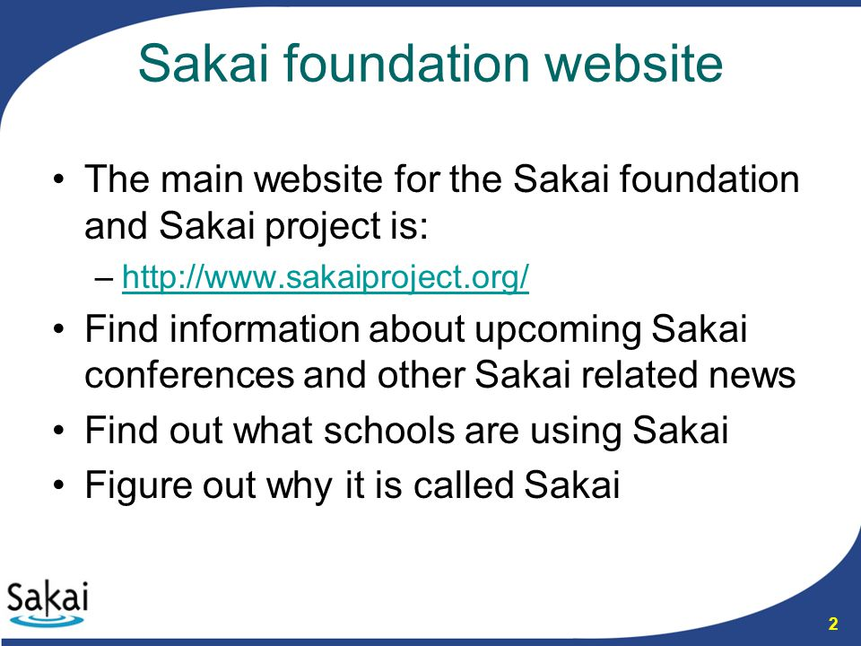 3 Programmers Cafe The best source of information for developers wanting to work in Sakai is the programmers café website –http://bugs.sakaiproject.org/confluence/display/BOOT/http://bugs.sakaiproject.org/confluence/display/BOOT/ Info you can find there: –Tutorials –Tips –Documentation –Sample code