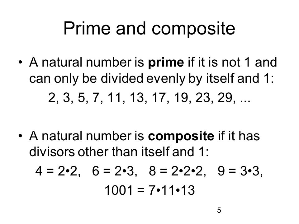 6 Fundamental Theorem of Arithmetic Theorem.
