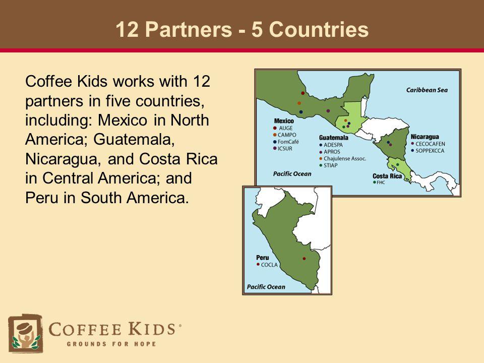 www.coffeekids.org The savings program is just one of the efforts we sponsor.